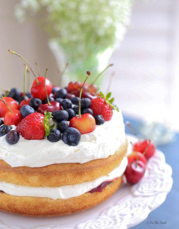 Victoria Sponge Cake, An English Classic