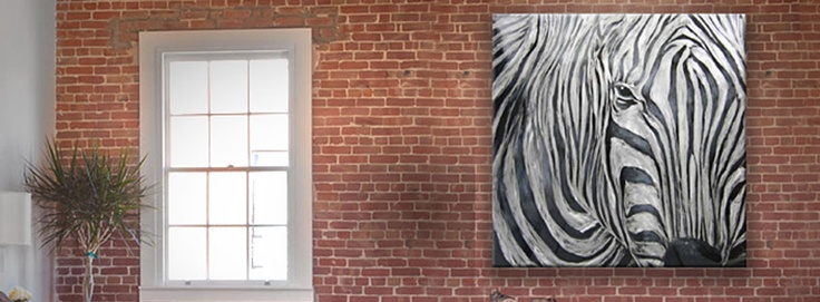 Zebra paint !