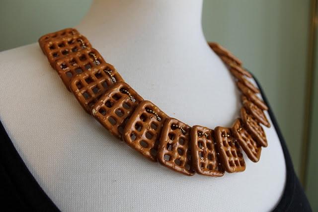 Pretzel necklace for Jane by Design style challenge.