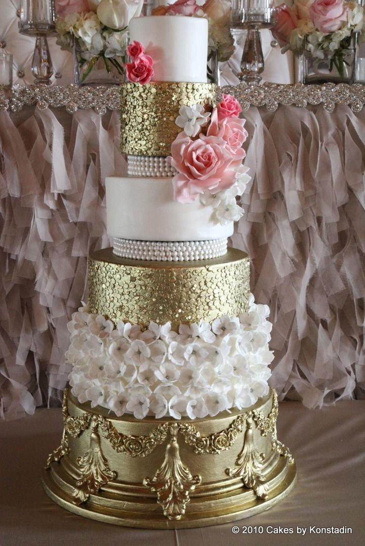 how to make a gold wedding cake 431 best images about wedding cakes on 15815