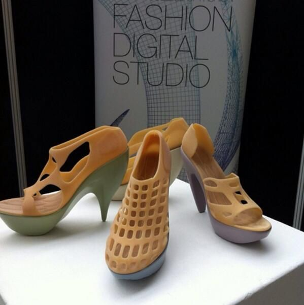 3D Printed Shoes #3dPrintedFootware