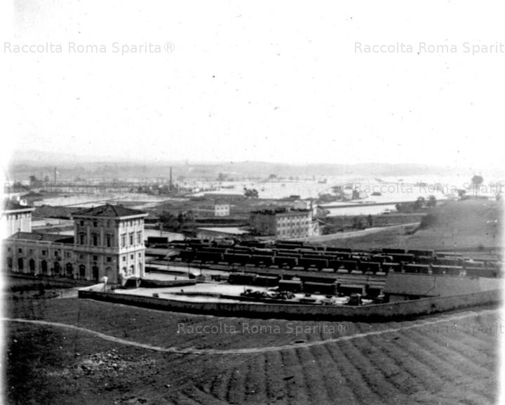 Stazione di Trastevere Anno: 1915