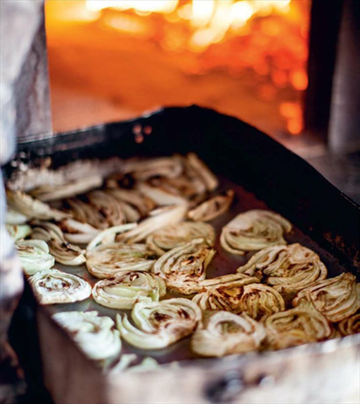 Slow-roasted Florence fennel with thyme by Katie Caldesi from The Amalfi Coast | Cooked