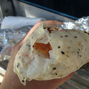 Jogasaki - Food Truck-Los Angeles - found on Thrillist Los Angeles - sushi burritos!