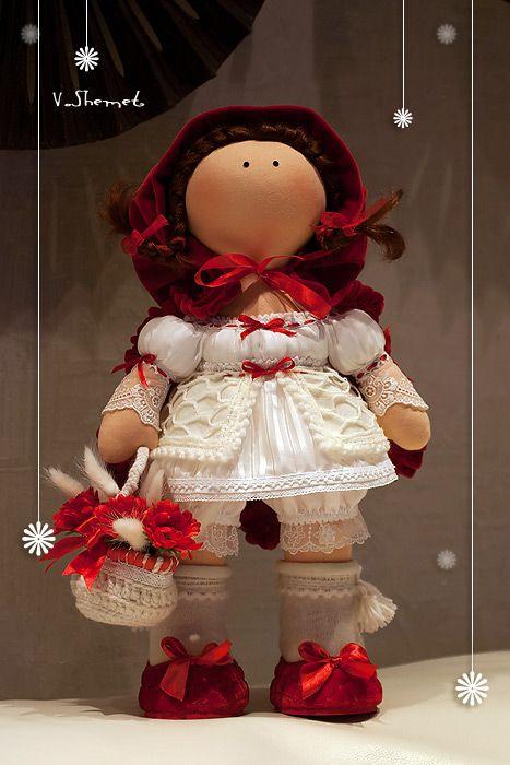 Красная шапочка куклы своими руками