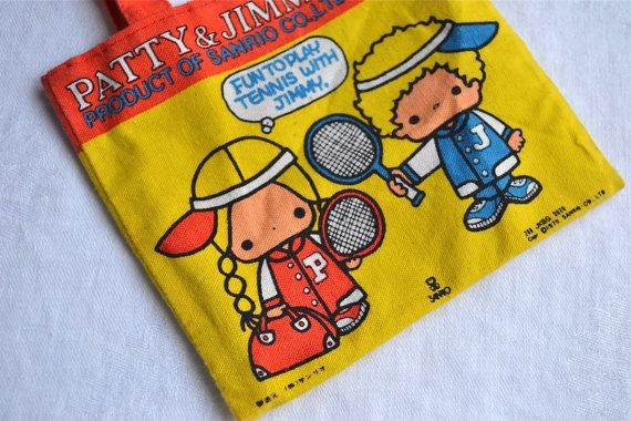 Patty & Jimmy Purse Vintage Sanrio 1975 Fun to by pumpkintruck, $55.00