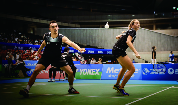 We were bemused and delighted to find ourselves featured in the Yonex 2015 calendar, alongside badminton superstars Chris and Gabby Adcock, no less!