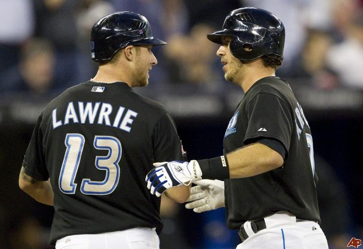 My absolute favorite Bluejays.. Brett Lawrie  J.P. Arencibia