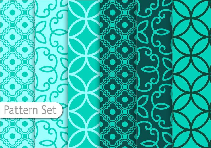 Decorative Geometric Pattern Set