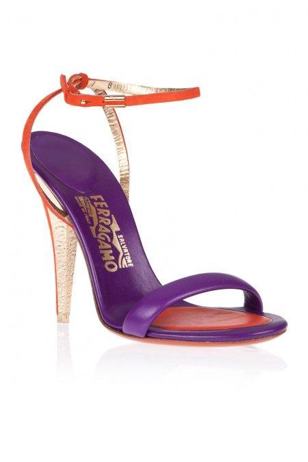 strappy high-heel sandals - Pink & Purple Salvatore Ferragamo Prices For Sale Cheap Sale Browse WPnSMUXZ