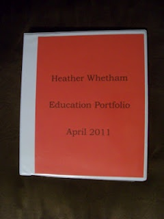 How to create an educational portfolio to take to interviews AND tips for how to USE the portfolio to help you land the job!