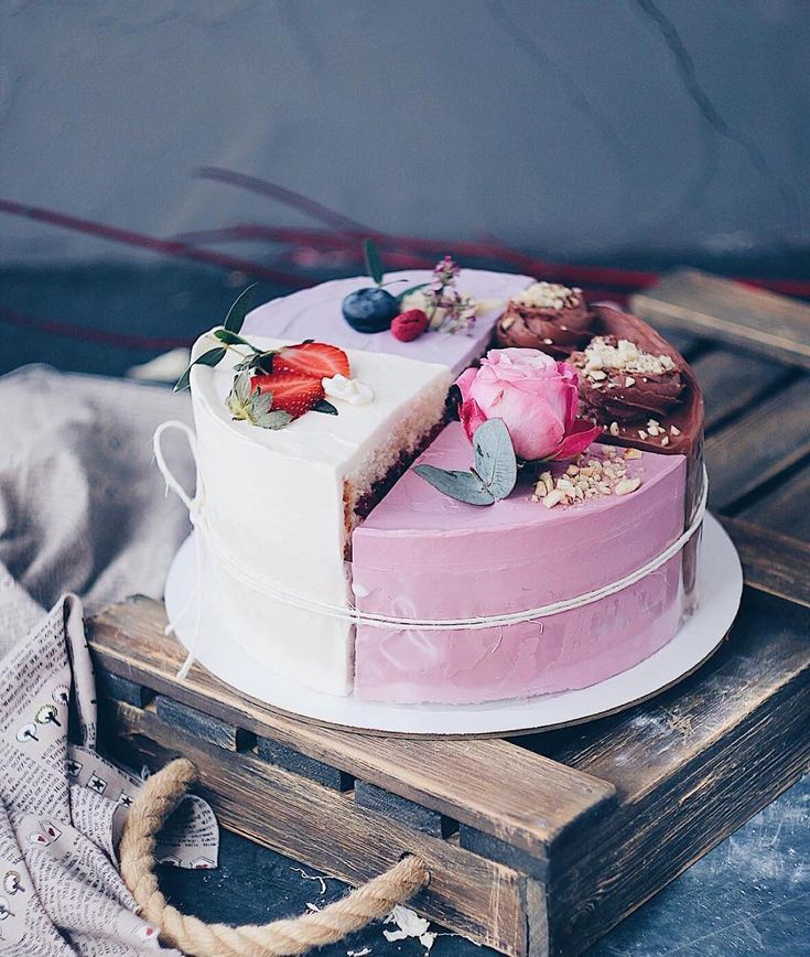 что красивая картинка торта четвертинки колись віддав
