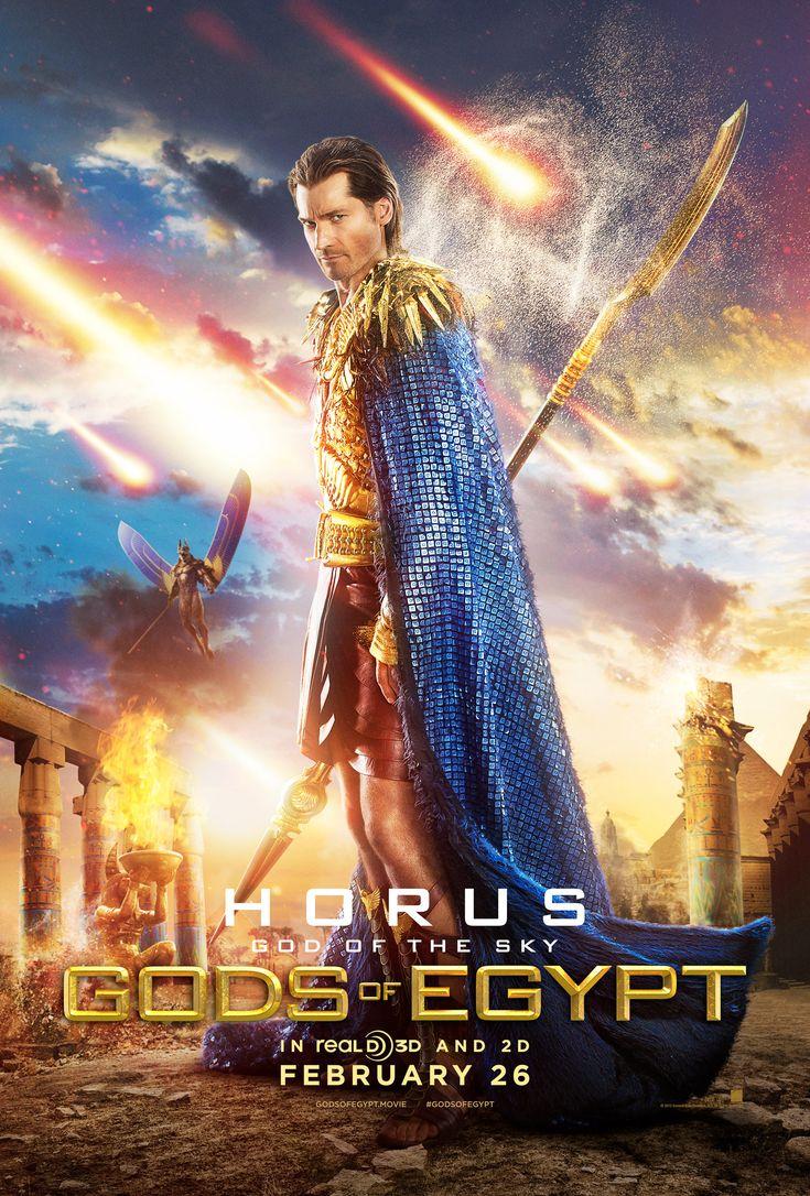 Horus character, Gods of Egypt movie poster, 2016