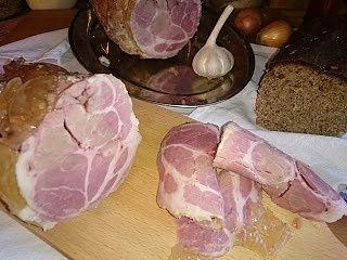 Baleron konserwowy - domowy wyrób bez szynkowaru