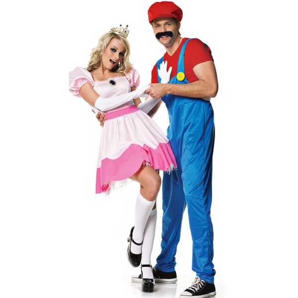 Princess Peach Costume, Adult Princess Costume, Sexy Princess... ($32) ❤ liked on Polyvore