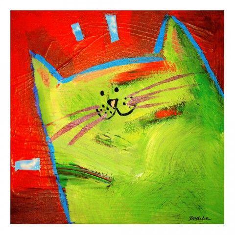 Mikajło - obrazek farbami akrylowymi - dostępny na www.grupart.pl