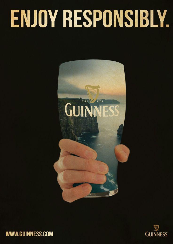 Guinness Advertising made in Photoshop. #artwork#guinness#photoshop#digitalart
