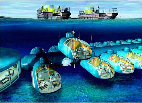 Underwater Hotel in Fiji – Erika Cruz