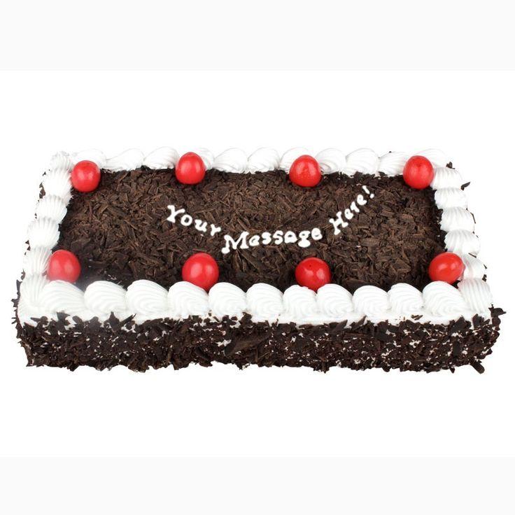 1 Kg Black Forest Rectangle Cake