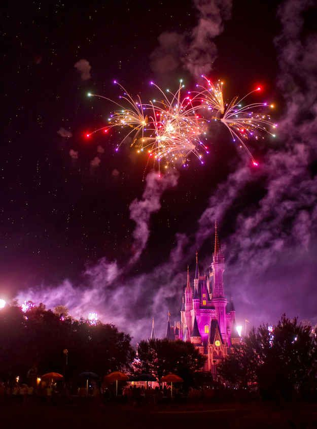 """The Magic Kingdom calls the fireworks the """"Kiss Goodnight"""" instead of the accurate """"Kiss of Death."""""""