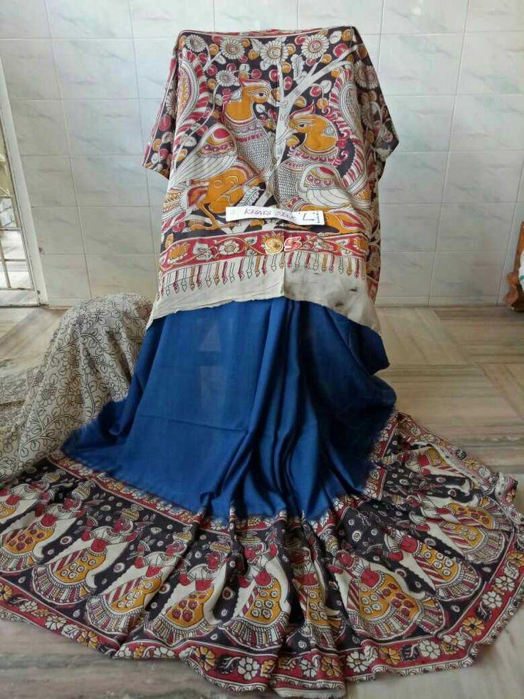 Kalamkari silk cotton sarees 008