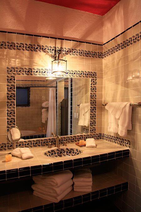 Iluminacion Baño Easy:Más de 1000 imágenes sobre Baños rusticos en Pinterest