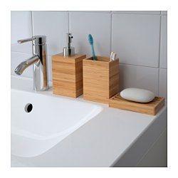 IKEA - DRAGAN, Distributeur savon, , Le bambou est un matériau naturel et résistant.Facile à remplir grâce à la grande ouverture du distributeur de savon.