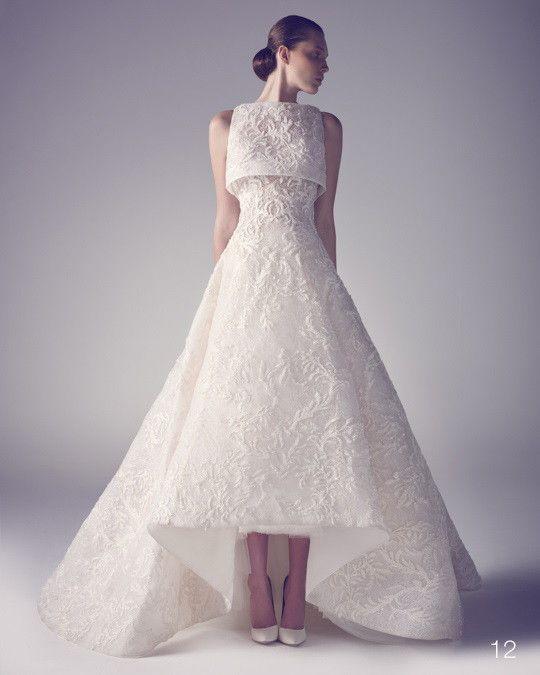 Ashi Studio Spring 2015 Wedding Dress