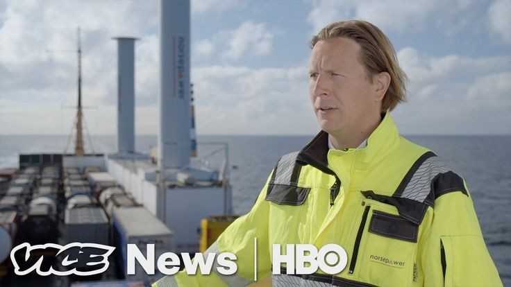 The Shipping Industry May Finally Be Turning To Wind Power (HBO)