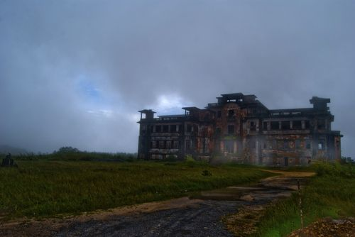 Bokor Hill Station, Cambodia.   Bokor Hill Station is an abandoned French town in Preah Monivong National Park, located in northern Cambodia.
