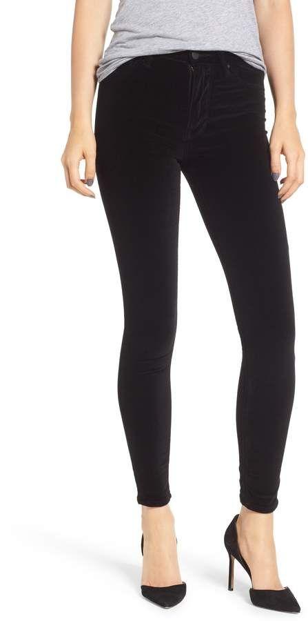d8b0a9901cd Hudson Jeans Barbara High Waist Ankle Skinny Velvet Jeans Hudson Jeans,  Fashion Sale, High