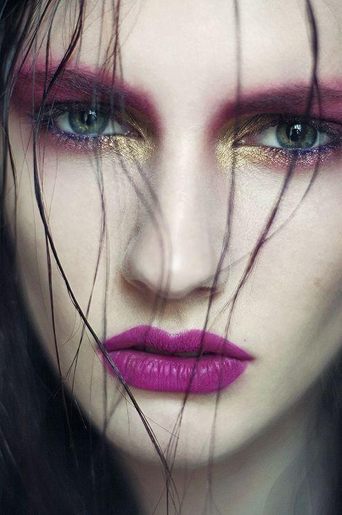 Editorial Makeup. High fashion makeup. Avant Garde makeup.