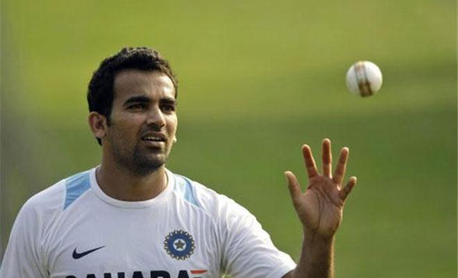 Zaheer Khan annoucing his retirement from international cricket