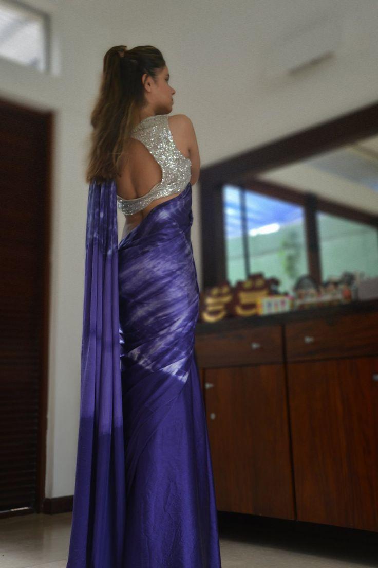 | Satin Silk Saree |  Available @ The Swanee Store At Gandhara, Stratford Avenue, Colombo 5  Sri Lanka