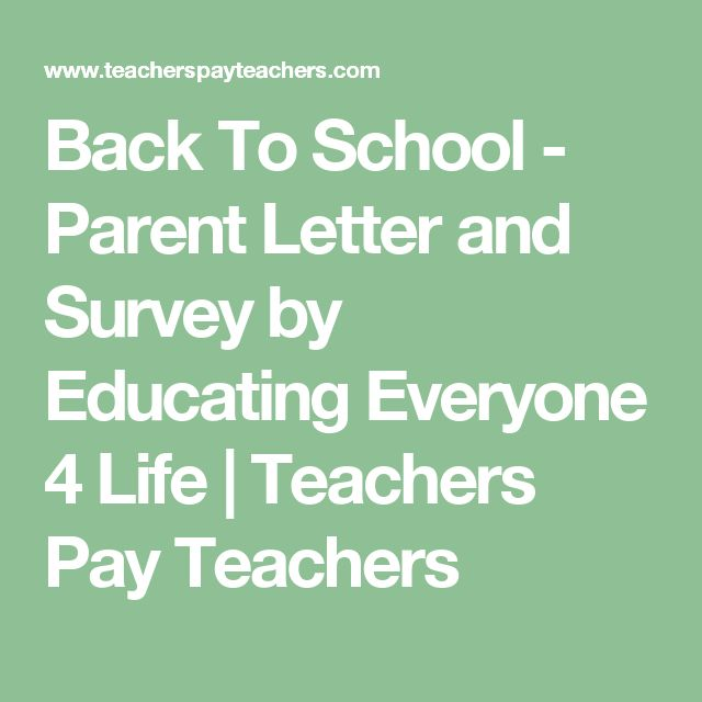 Best 25+ Parent letters ideas on Pinterest Dojo parent - letter to a teacher