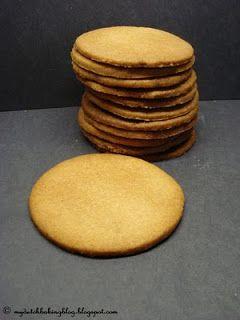 Dutch Food. Jodenkoeken. Dutch Jewish Cookies.