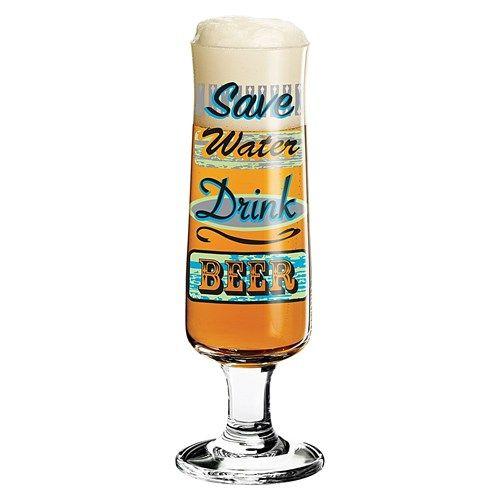 Ritzenhoff Marie Peppercorn 300ml Footed Beer Glass   Beer Glasses & Mugs - House