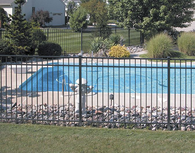Ovation Pool Fence Privacylink Pool Environment Fence Design Pool Fence