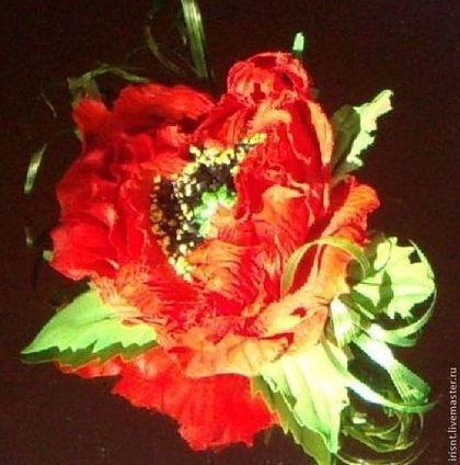 цветы из ткани ИРИС НТ