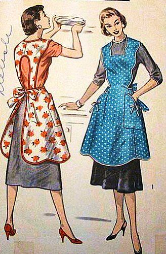 Advance 8161 Misses Reversible Cobbler, Cover-Up Apron in a Pretty New Shape! Sewing Pattern, Vintage 1940s Advance,http://www.amazon.com/dp/B00G1V1QAK/ref=cm_sw_r_pi_dp_piQJsb1YS5DF356Q