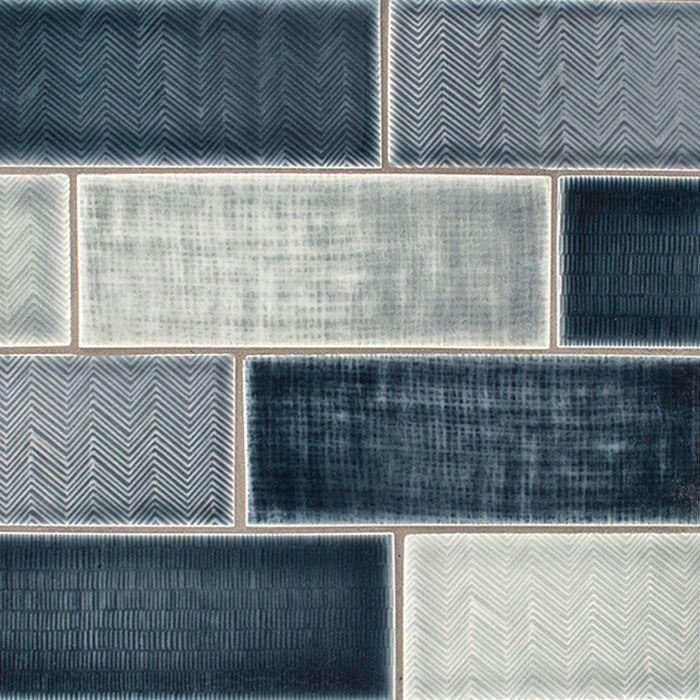 American Handmade Texture Ceramic Tile Wall Tile Backsplash Tile Field Tile Subway Tile Crac Blue Subway Tile Blue Tile Backsplash Blue Tile Backsplash Kitchen