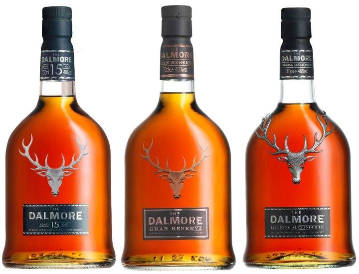 I bought a tasting set of five different Dalmore whiskies to try with my brother, the 12 year old, Gran Reserva, 15 year old, 18 yea old and King Alexander III