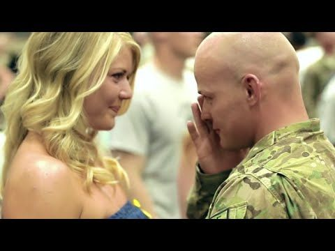 Soldiers Coming Home Surprise