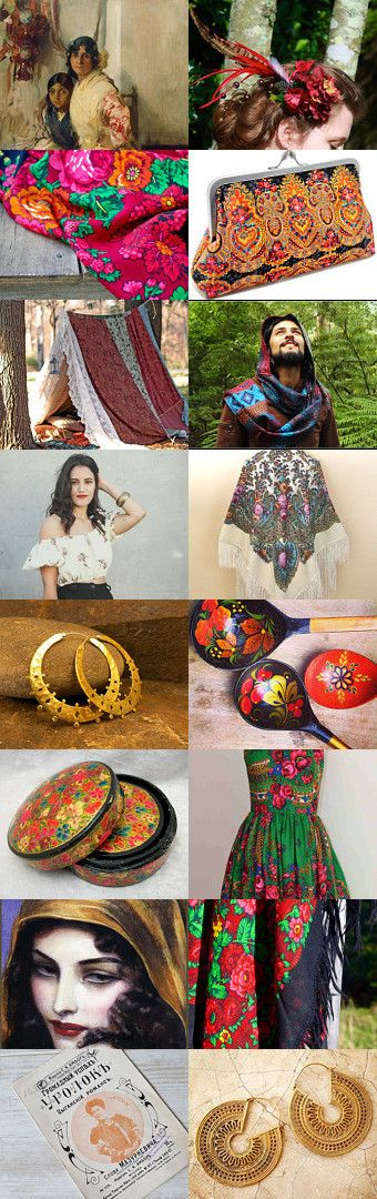 Gypsy soul by Viktoria Schuster on Etsy--Pinned with TreasuryPin.com