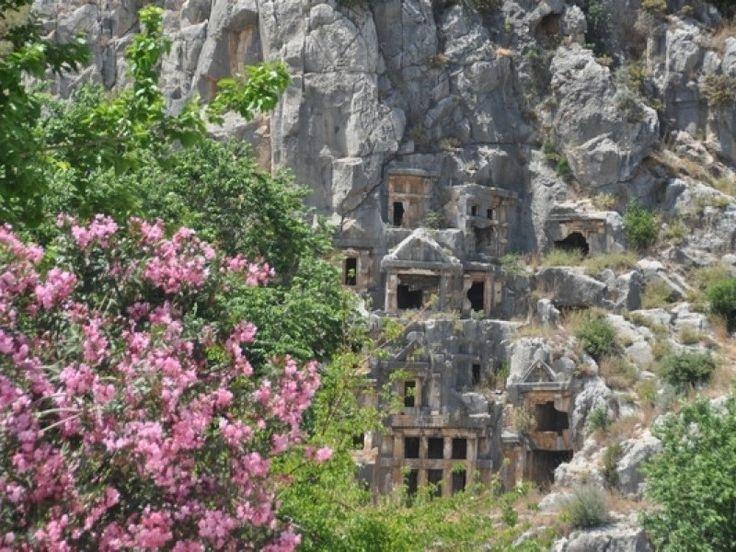Myra, Mediterranean Coast, Turkey