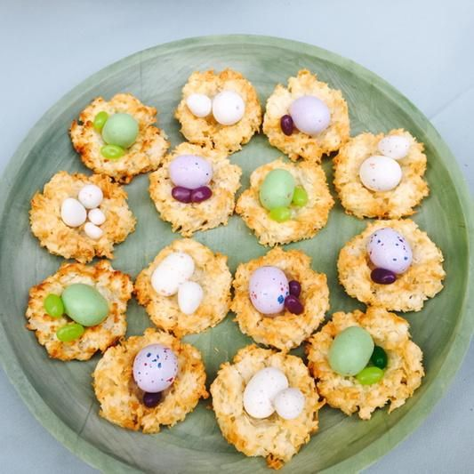 coconut nests with jelly bean eggs recipes dishmaps jelly bean eggs is ...