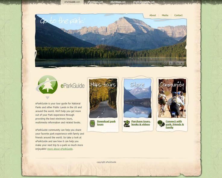 eParkGuide | from Elfshot Web Design Folio