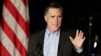 Mitt Romney, 2015 file photo