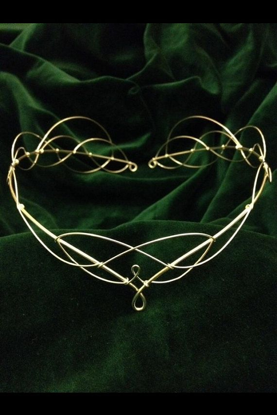 Awesome Celtic headpiece for a themed renaissance wedding, LOTR cosplay, or just looking classy!