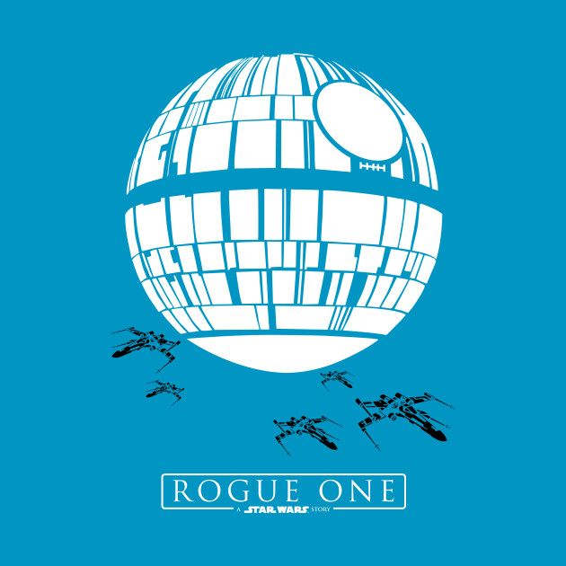 Check out this awesome 'Star+Wars+Rogue+One+Death+Star' design on @TeePublic!